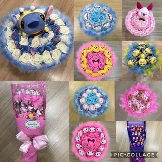 Toy Bouquets @ 50% OFF!