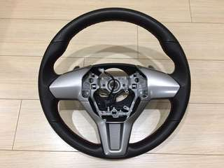 Momo paddle shifter leather steering wheel