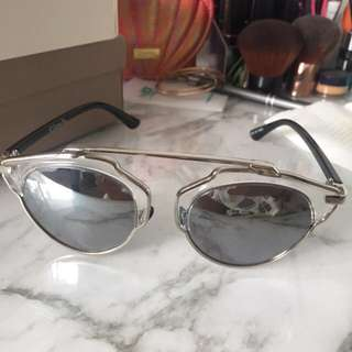"Dior ""so real"" sunnies"