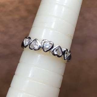 18K diamond ring  0.25ct #13