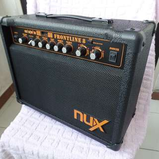 Used working Nux Frontline 8 amplifier for electric guitar.