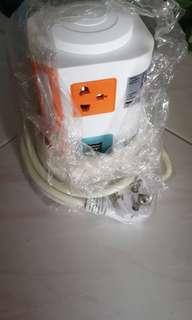 Multi power and usb socket (2 pin plug)
