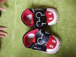 米奇幼兒鞋子,二手