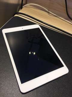 Apple iPad Mini 1 WiFi 16GB (white) #105