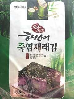 韓國直送 Samsung 三星海苔 一袋五大包 exp.2019-05-30