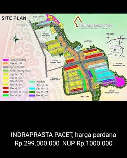 Perumahan Indraprasta view pacet