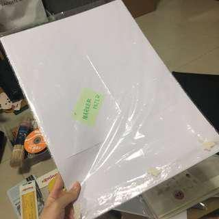 A3 Marker paper 9pcs