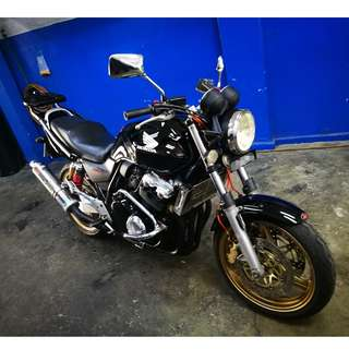 Honda Superfour Spec 3 with Yoshi slip-on (Min D/P $1500)