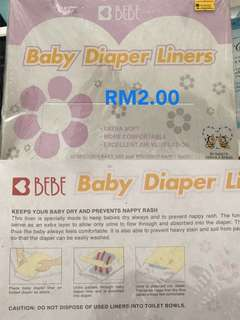 Baby Diaper Liners