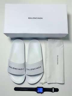 Balenciaga Piscine Flat Sandals