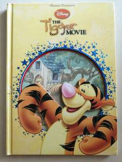 Disney Classics The Tigger Movie Children Book