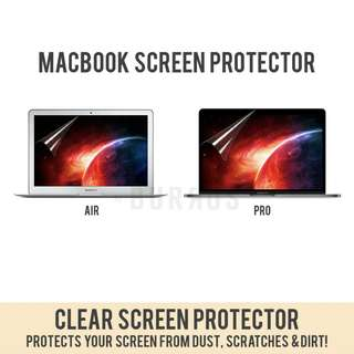 📣INSTOCKS📣 HD Clear Screen Protector Laptop Sticker Apple Macbook Air Retina Pro