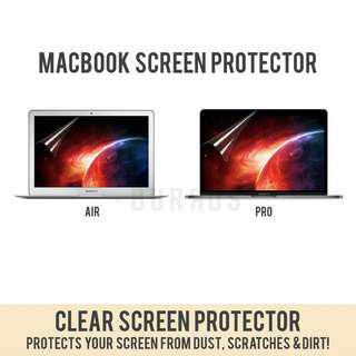 📣INSTOCKS📣 HD Clear Screen Protector Laptop Sticker Apple Macbook Air Retina Pro