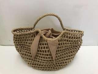 Woven Bali Basket Bag
