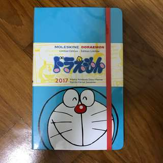 Moleskin Doraemon 2017 Weekly Notebook Diary / Planner (Limited Edition)