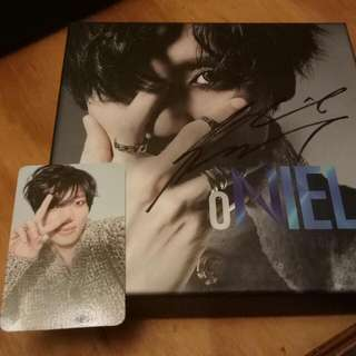 DISCOUNTED MWAVE SIGNED NIEL ALBUM WITH PHOTOCARD