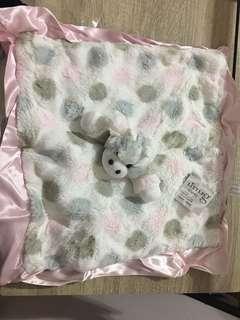 🚚 Little Giraffe 經典點點長頸鹿安撫巾(粉)
