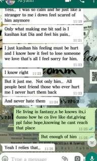 Testimonial for ressolving relationship issue