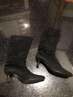 🚚 專櫃短跟靴