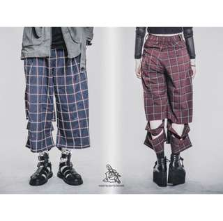 🚚 Slightly Numb 藍格褲✨