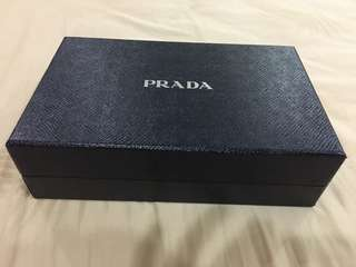 Prada wallet with sling (Genuine)