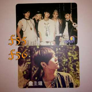 Nu'est 金圭鐘 yescard