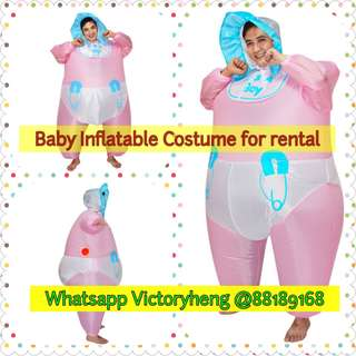 Baby Inflatable Costume for rental
