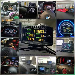 Other made Lufi OBD/OBD2 Gauge for difference made of cars