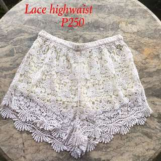 Lace High Waisted