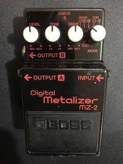 Boss Digital Metalizer MZ-2