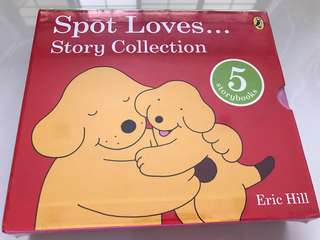 BNIB Spot Loves... Story Collection (5 hardcover storybooks)