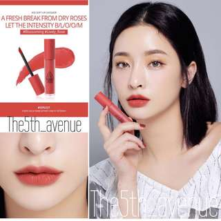 [Instock] 3CE Soft Lip Lacquer - Explicit