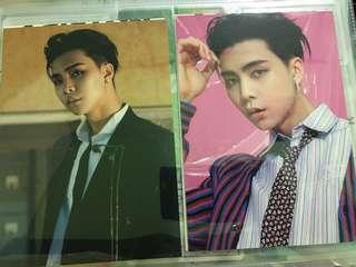 [WTS][RARE] NCT 127 Johnny Cherry Boom Postcard Set