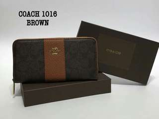 Coach Wallet Brown Color