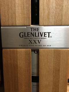 Glenlivent 25 yo