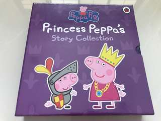BNIB Princess Peppa Pig Story Collection (5 hardcover storybooks)
