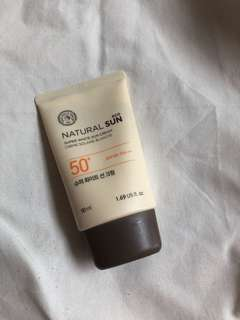 The Face Shop Sun Cream SPF 50