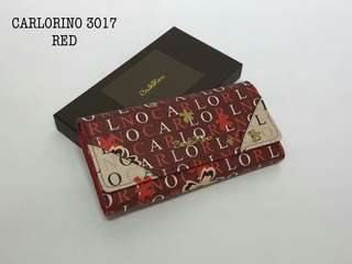 Carlo Rino Wallet Red Color