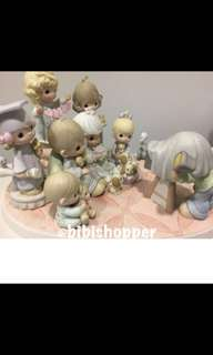 """""""A Portrait of Loving, Caring and Sharing"""" Precious Moment figurine -Sale!"""