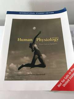 Human Physiology (From Cells to System) Sixth Edition