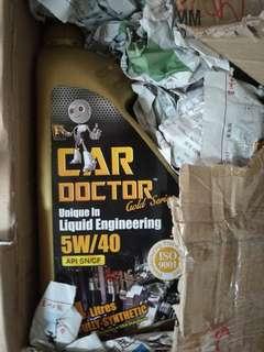 Engine oil + soft 99 wax