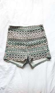 🚚 H&M BOHO high - waisted shorts