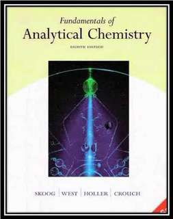 Kimia analitik: fundamentals of analytical chemistry 8ed by Skoog copy
