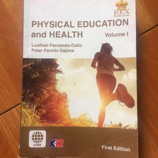physical education and health book