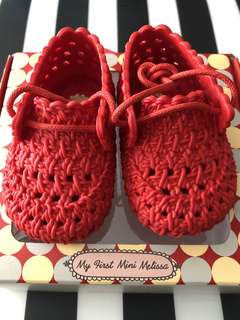 Mini Melissa Shoes Red US 3