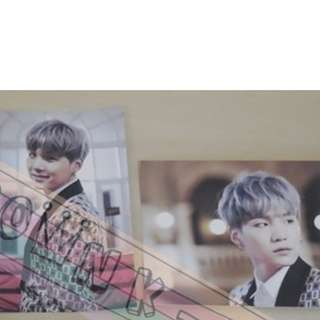 [CRAZY DEAL 20% OFF FROM ORIGINAL PRICE][READY STOCK]BTS KOREA OFFICIAL 2015 LIVE TRILOGY EPISOD 1 PHOTO CARD SET SUGA 2PC !!OFFICIAL ORIGINAL FROM KOREA (PRICE NOT INCLUDE POSTAGE)POSLAJU:PENINSULA AREA:RM10/SABAH SARAWAK AREA: RM15