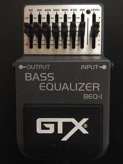 GTX Bass Equalizer BEQ-1