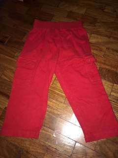 Red Jogging Pants