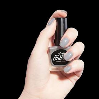 🚚 Little Online Peel off Nail Polish - Grey