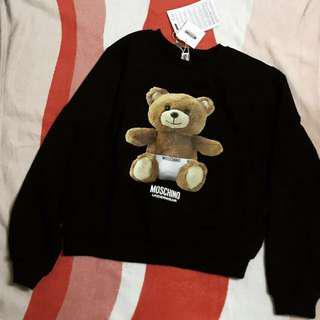 🚚 Moschino teddy bear sweatshirt 🐻 熊熊上衣